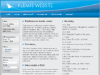 Klemi's website, lezecký blog